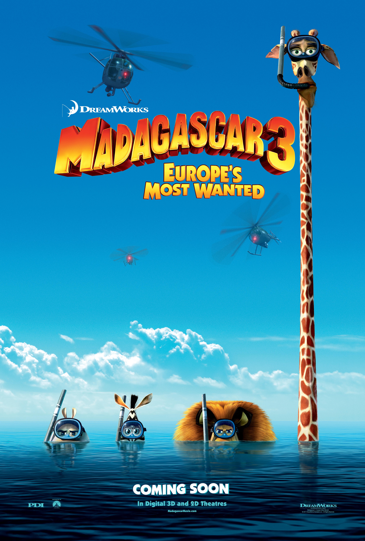 мультфильмы бесплатно смотреть мадагаскар 3:
